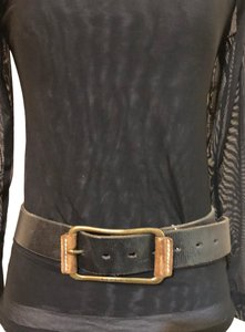 Sisley Sisley leather belt, made in Italy