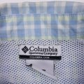 Columbia Sportswear Company Blue Green Check L Pfg Large Checked Mens Size Cotton Blend V Shirt Columbia Sportswear Company Blue Green Check L Pfg Large Checked Mens Size Cotton Blend V Shirt Image 4