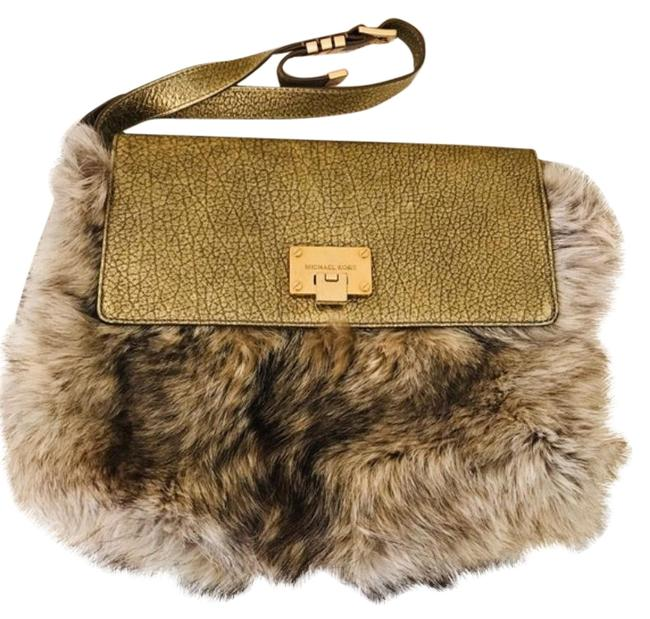Item - Darrington Tan Fur Cross Body Bag
