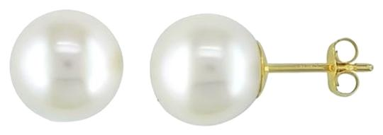 Other 14k Yellow Gold 8.5-9mm Akoya Pearl Stud Earrings