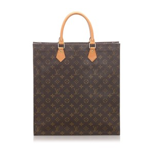 Louis Vuitton 0elvto023 Vintage Leather Tote in Brown