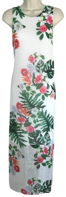Item - Botanical Tunic Long Casual Maxi Dress Size 10 (M)