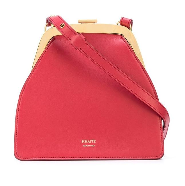 Item - Crossbody Nellie Red Leather Messenger Bag