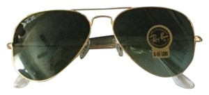 Ray-Ban Ray-Ban RB3025 Aviator Classic Gold Frame/Green Classic G-15 Lenses