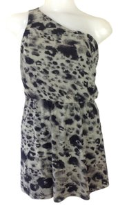 Other short dress Grey Multi One Shoulder on Tradesy