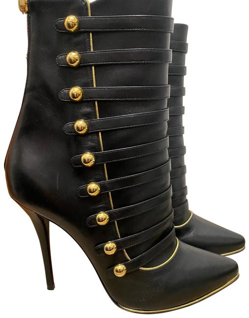 Item - Black and Gold Alienor Boots/Booties Size EU 39 (Approx. US 9) Regular (M, B)