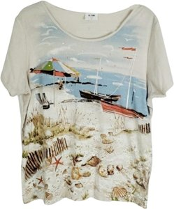 RE/DONE T Shirt OATMEAL