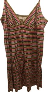 Trina Turk short dress Multi Summer Cotton Rainbow on Tradesy