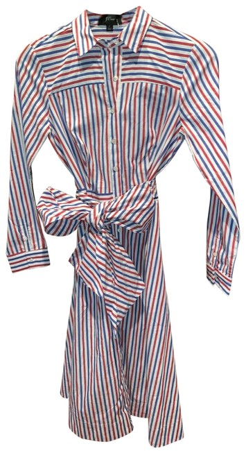 Item - Red White and Blue H7791 Long Casual Maxi Dress Size 2 (XS)