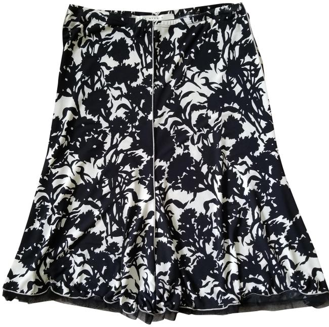 Item - Black and Beige Ivory Skirt Size 4 (S, 27)