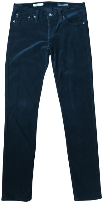 Item - Navy Stilt Cigarette Corduroy Pants Size 2 (XS, 26)