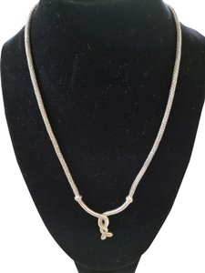Bali Sterling Silver and 18K Gold Necklace