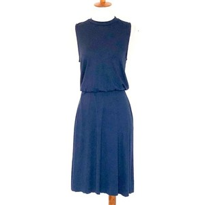 Three Dots short dress Blue on Tradesy