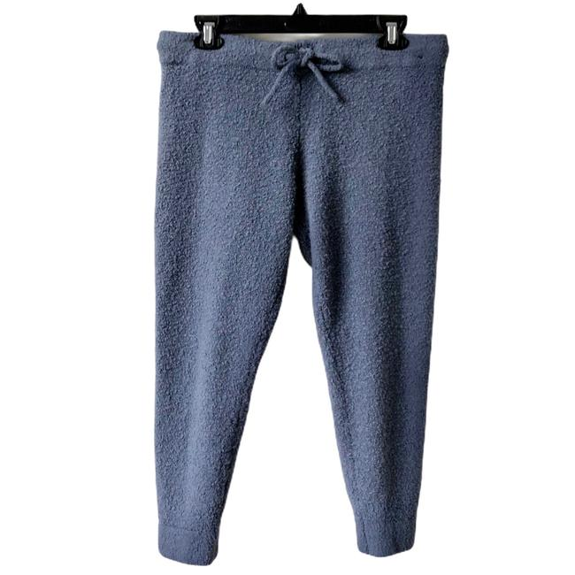 Item - Blue Ny&c Soft Nubby Textured Drawstring Joggers Activewear Bottoms Size 12 (L)