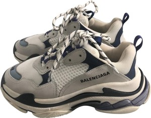 Balenciaga white and blue Athletic