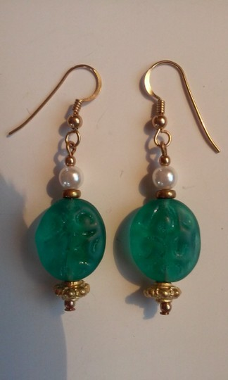 Other Handmade Beaded French Hook Pierced Dangle Drop Earrings