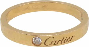 Cartier Rose Gold Size 63 Diamond Love Band Ring