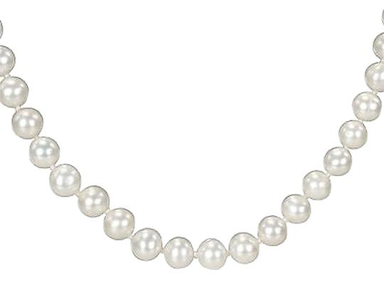Other Amour 6.5-7 Mm White Freshwater White Potato Pearl Strand Necklace 18