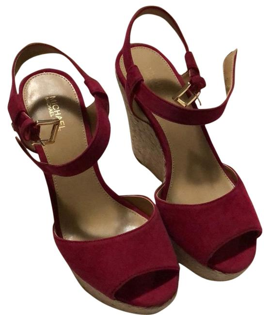Item - Pink Carlyn Wedges Size US 6.5 Regular (M, B)