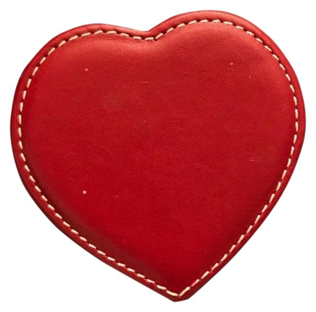 Item - Red Leather Box Heart