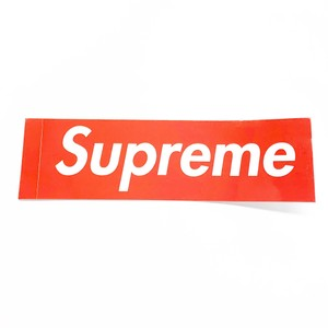 Supreme Red Supreme Sticker