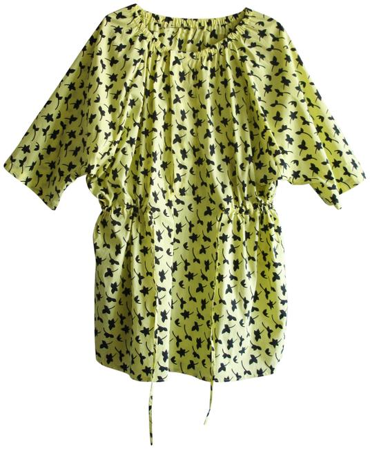 Item - Yellow Boxy Dress Cover-up/Sarong Size 6 (S)