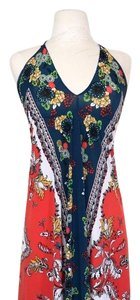 AnaMaria Couture short dress red, blue, white and yellow. on Tradesy