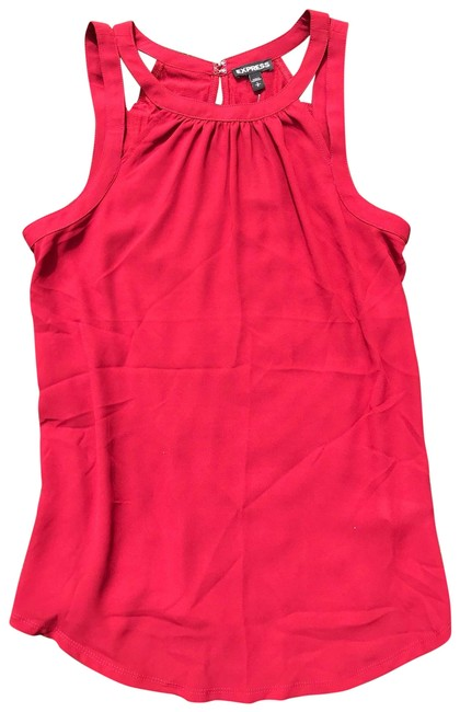 Item - Maroon Strappy Shoulder Tank Top/Cami Size 4 (S)