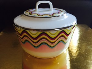 Missoni Home Margherita Sugar Bowl With Lid
