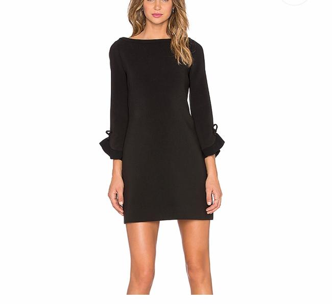 Preload https://img-static.tradesy.com/item/27420578/kate-spade-black-ruffle-sleeve-short-cocktail-dress-size-4-s-0-0-650-650.jpg