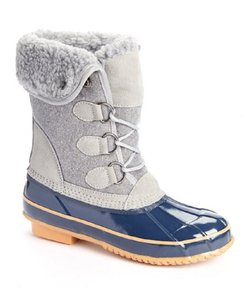 Khombu Winter Water-repellant Water-resistant Warm Gray Boots