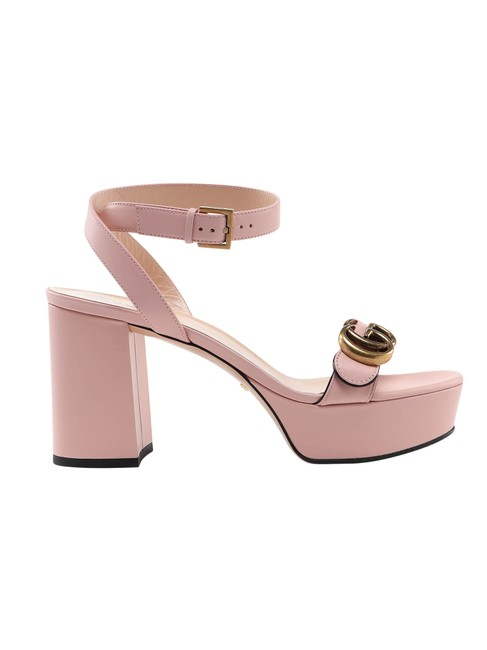 Item - Pink & Purple Leather In Calf Leather Sandals Size EU 38 (Approx. US 8) Regular (M, B)
