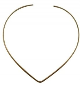 Boutique Avant Garde Gold Choker