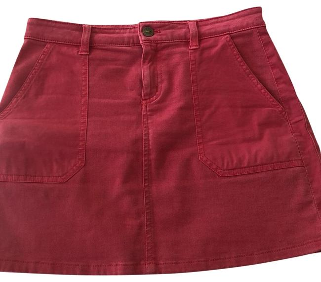Item - Red Skirt Size 0 (XS, 25)