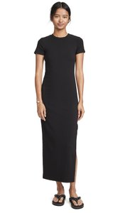 black Maxi Dress by STATESIDE Fitted