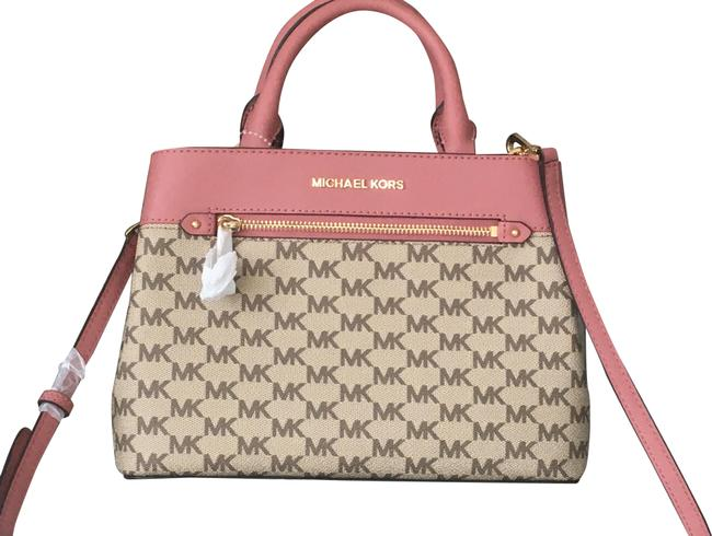 Item - Hailee Small Rose Leather Satchel