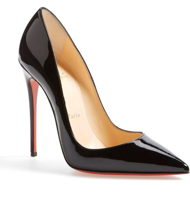 Christian Louboutin So Kate 120 Patent Leather Pumps Size EU 36.5 (Approx. US 6.5) Regular (M, B) Christian Louboutin So Kate 120 Patent Leather Pumps Size EU 36.5 (Approx. US 6.5) Regular (M, B) Image 1