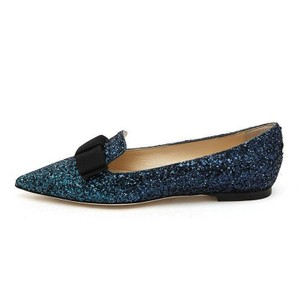 Jimmy Choo two tone blue Flats