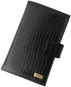 Gianfranco Ferre Gianfranco Ferre Black Patent Leather Address And Telephone Book
