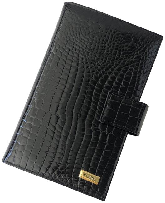 Item - Black Patent Leather Address and Telephone Book