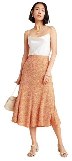 Item - Orange Coral Maeve Janey Skirt Size 6 (S, 28)