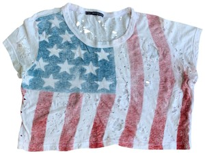 Truly Madly Deeply T Shirt American flag