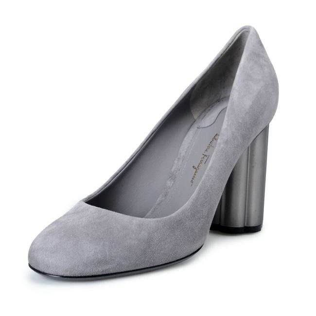 Item - Gray Women's Lucca 85 Suede Leather High Pumps Size US 9 Wide (C, D)