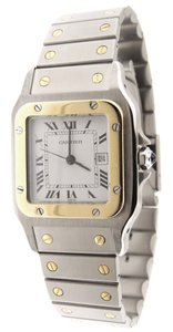 Cartier Cartier Santos 18K Yellow Gold/Stainless Steel 29mm Automatic Watch