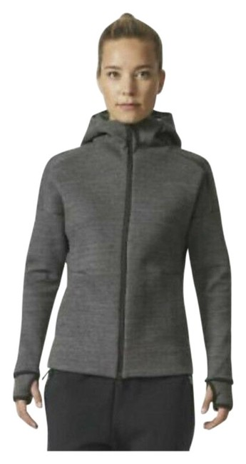 Item - Gray Zne Hooded Running Activewear Outerwear Size 4 (S)