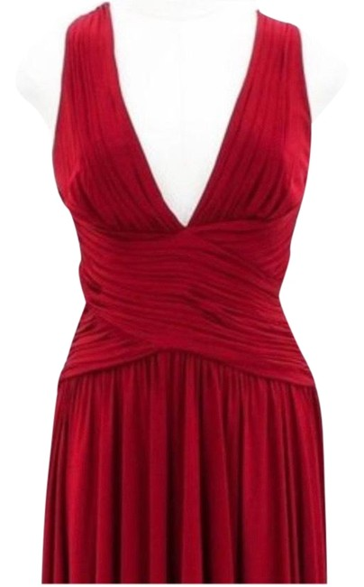 Item - Red Not Sure Mid-length Night Out Dress Size 8 (M)
