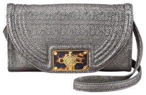 Tory Burch Gunmetal Clutch