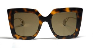 Gucci Tortoise Style GG 0435s - FREE 3 DAY SHIPPING- Square