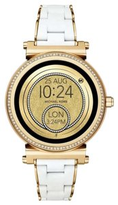 Michael Kors Access Sofie Gold and Silicone Touchscreen Smartwatch Mkt5039 Watch