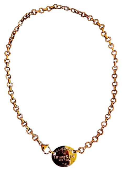 Item - Gold Yellow Return To Necklace